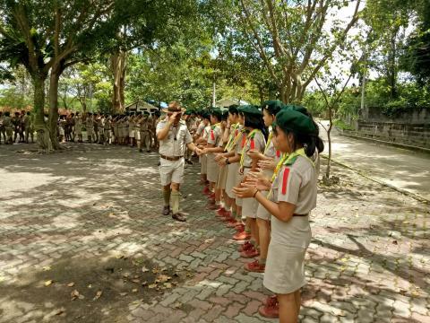 พิธีปิดกองลูกเสือ ประจำปี 2561